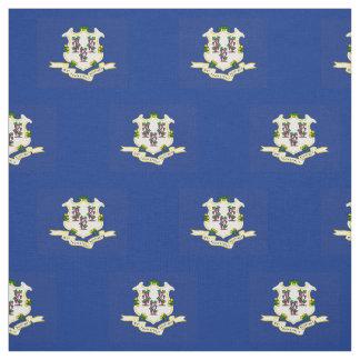 Patriotic Connecticut State Flag Fabric