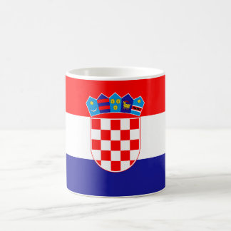 Patriotic Croatian Flag Coffee Mug