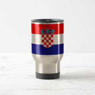 Patriotic Croatian Flag Travel Mug