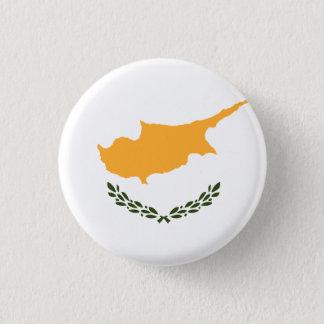 Patriotic Cyprus Flag 3 Cm Round Badge