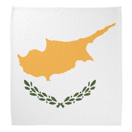 Patriotic Cyprus Flag Bandana