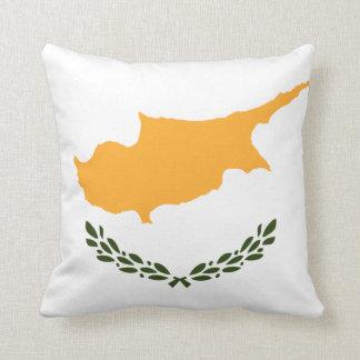 Patriotic Cyprus Flag Cushion
