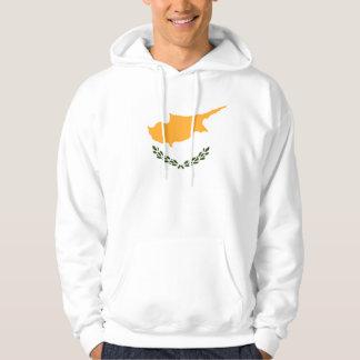 Patriotic Cyprus Flag Hoodie