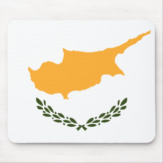 Patriotic Cyprus Flag Mouse Pad