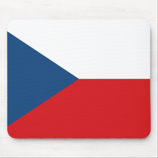 Patriotic Czech Republic Flag Mouse Mat