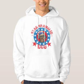 Patriotic Dachshund Hoodie