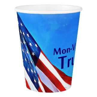 Patriotic Decor Paper Cup