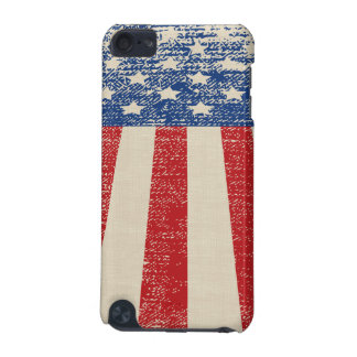 Patriotic Distressed American  Flag iPod Touch (5th Generation) Case