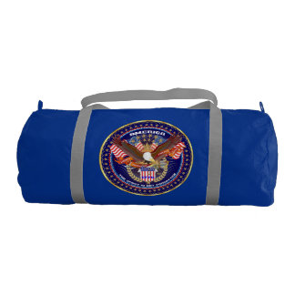 Patriotic Duffle Gym Bag Gym Duffel Bag