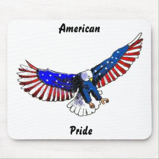 Patriotic eagle, American Pride Mouse Pad
