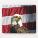 Patriotic Eagle Mouse Pads