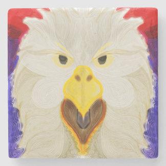 Patriotic Eagle Stone Coaster