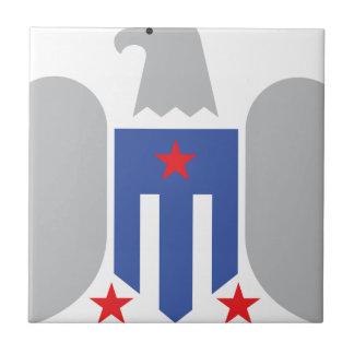Patriotic Eagle Ceramic Tiles