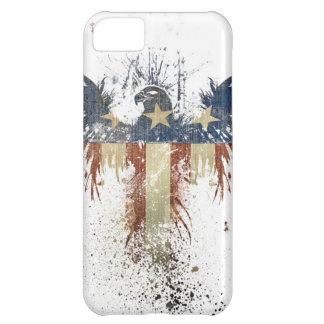 Patriotic eagle, US/USA, SAD flag iPhone 5C Case