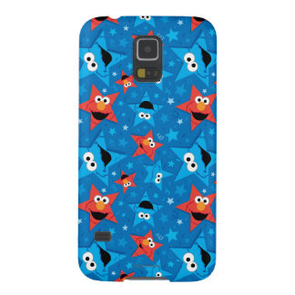 Patriotic Elmo and Cookie Monster Pattern Galaxy S5 Cases