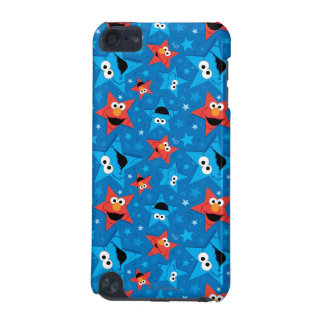 Patriotic Elmo and Cookie Monster Pattern iPod Touch (5th Generation) Cover