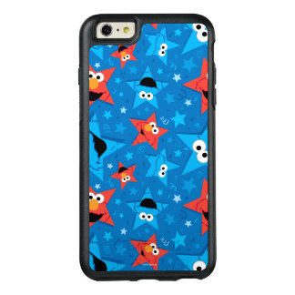 Patriotic Elmo and Cookie Monster Pattern OtterBox iPhone 6/6s Plus Case