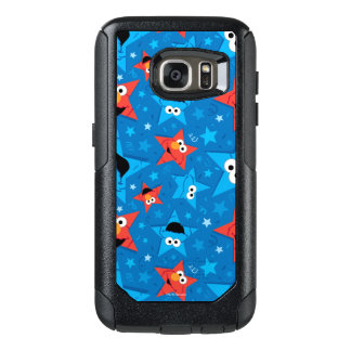 Patriotic Elmo and Cookie Monster Pattern OtterBox Samsung Galaxy S7 Case