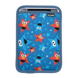 Patriotic Elmo and Cookie Monster Pattern Sleeve For iPad Mini