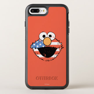 Patriotic Elmo - Distressed OtterBox Symmetry iPhone 8 Plus/7 Plus Case