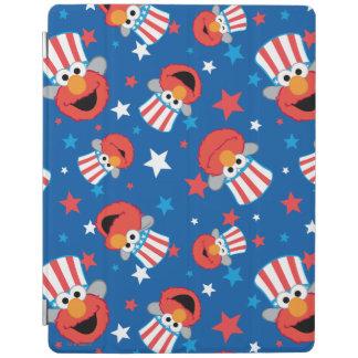 Patriotic Elmo Pattern iPad Cover