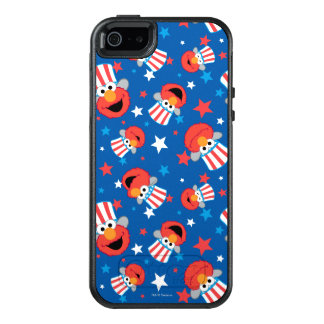 Patriotic Elmo Pattern OtterBox iPhone 5/5s/SE Case