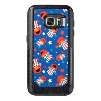 Patriotic Elmo Pattern OtterBox Samsung Galaxy S7 Case