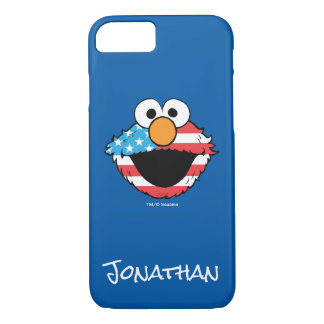Patriotic Elmo | Your Name iPhone 8/7 Case