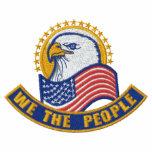 Patriotic Embroidery Hoodie