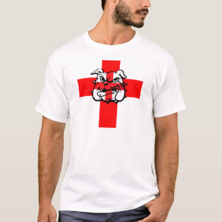 Patriotic English Bulldog English flag T-Shirt