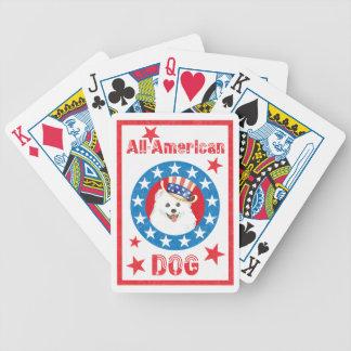 Patriotic Eskie Poker Deck