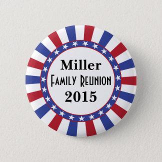 Patriotic Family Reunion 6 Cm Round Badge