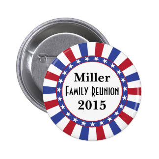 Patriotic Family Reunion 6 Cm Round Badge