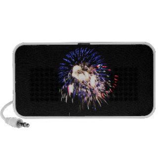 Patriotic Fireworks Doodle Speaker