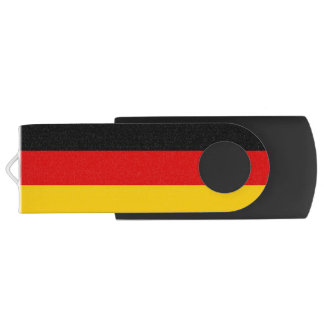 Patriotic Flag of Germany Customizable USB Flash Drive