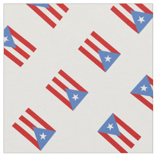 Patriotic: Flag of Puerto Rico Fabric