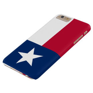 Patriotic Flag of Texas Barely There iPhone 6 Plus Case