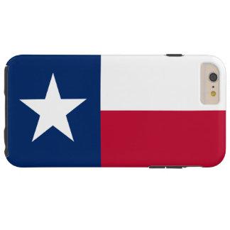 Patriotic Flag of Texas Tough iPhone 6 Plus Case