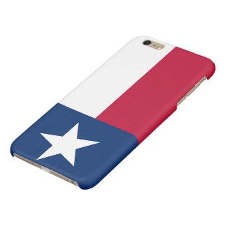 Patriotic Flag of Texas Glossy iPhone 6 Plus Case