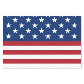"""Patriotic flag patternparty tissue paper 10"""" x 15"""" tissue paper"""