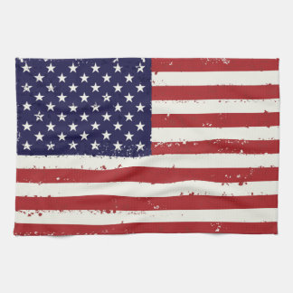 Patriotic Flag USA  - USA Flag Home Gifts Tea Towel