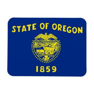 Patriotic flexible magnet with Oregon flag