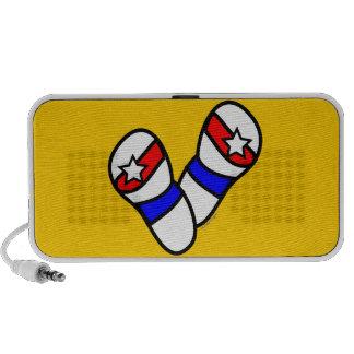 Patriotic Flip Flop Speakers