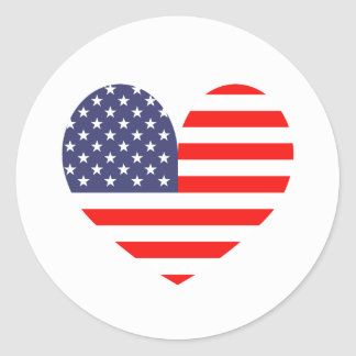 Patriotic Fourth 4th of July party favor stickers