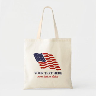 Patriotic Fourth of July American USA Flag Custom