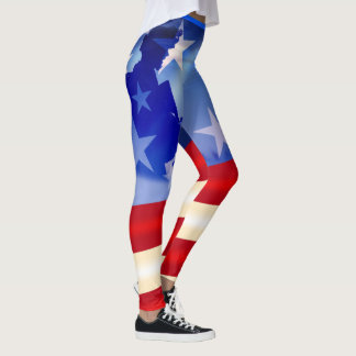 Patriotic Fourth of July/ Veterans Day Leggings