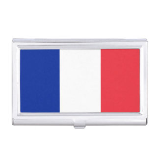 Patriotic French Flag Business Card Holders
