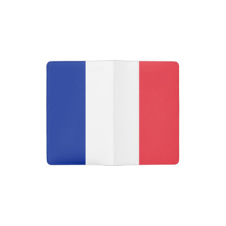 Patriotic French Flag Pocket Moleskine Notebook