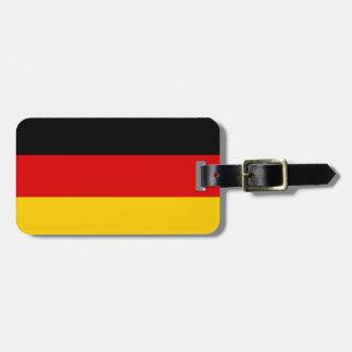 Patriotic German Flag Luggage Tag