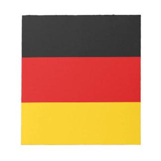 Patriotic German Flag Notepad